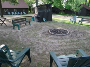 common fire pit cabin #6,5,3,2